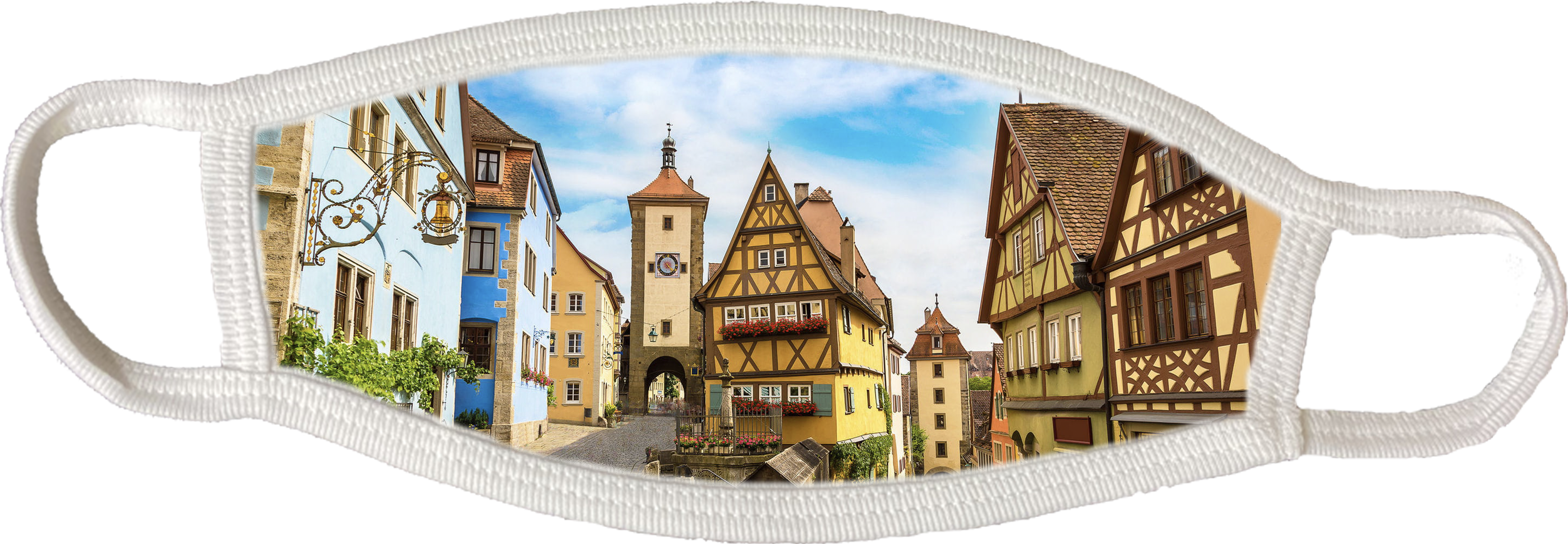 Rothenburg Face Mask